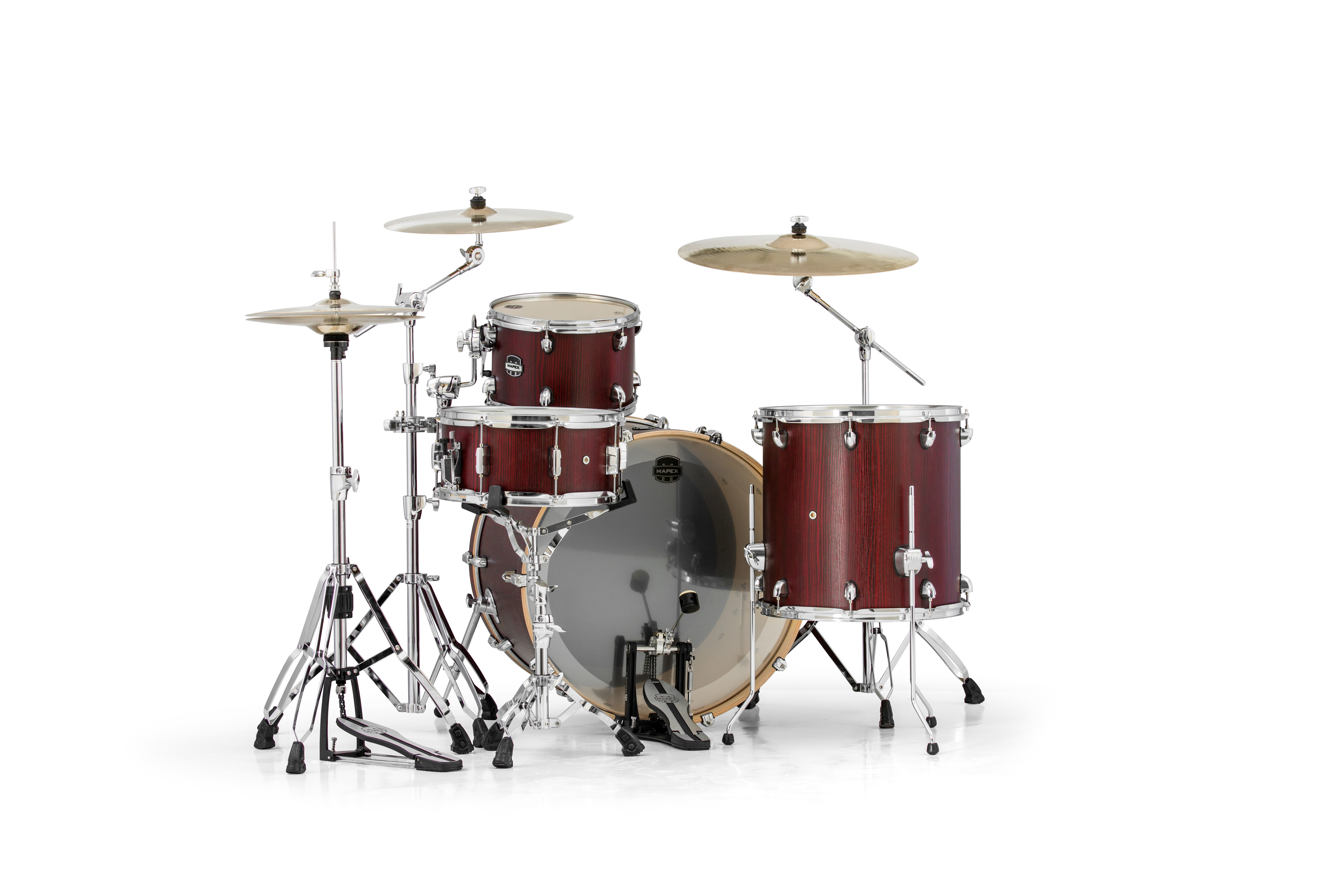 Mapex Mars 4 Piece Rock 24 Shell Pack - MA446SRW - Bloodwood