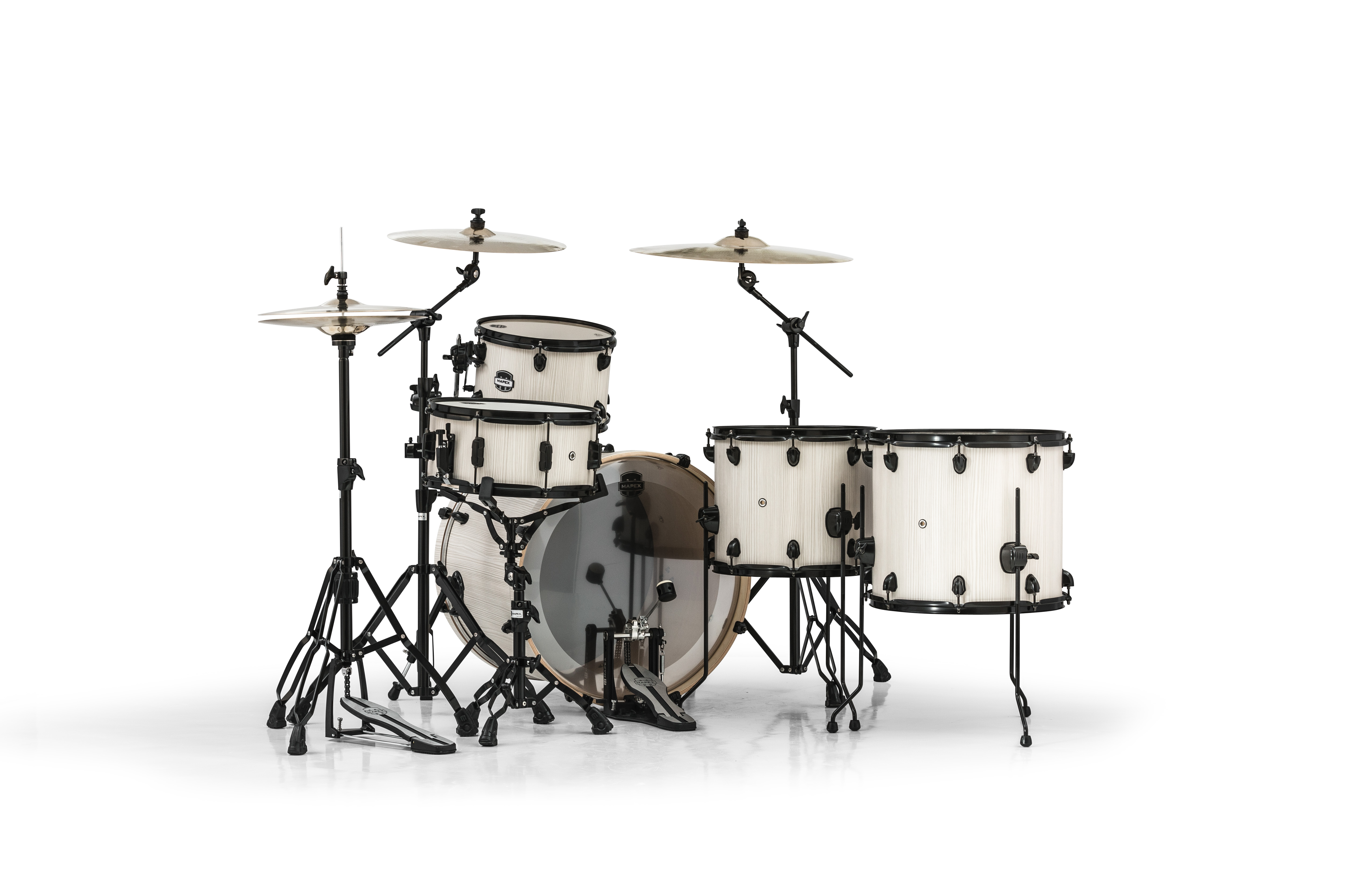 Mapex Mars 5 Piece Crossover Shell Pack - MA528SFBAW - Bonewood