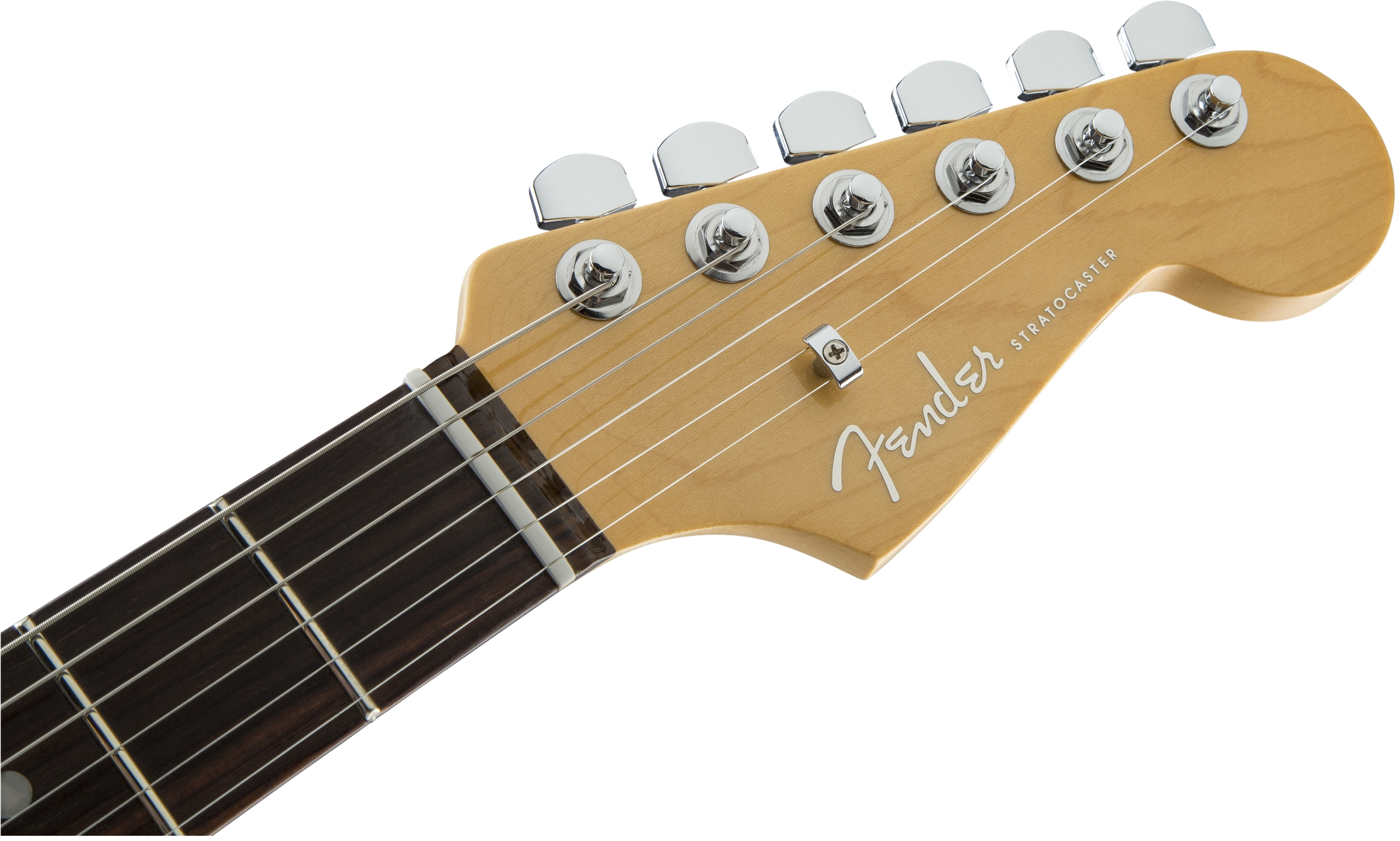 Fender American Elite Stratocaster® HSS Shawbucker Autumn Blaze Metallic Rosewood Fingerboard Electric Guitar