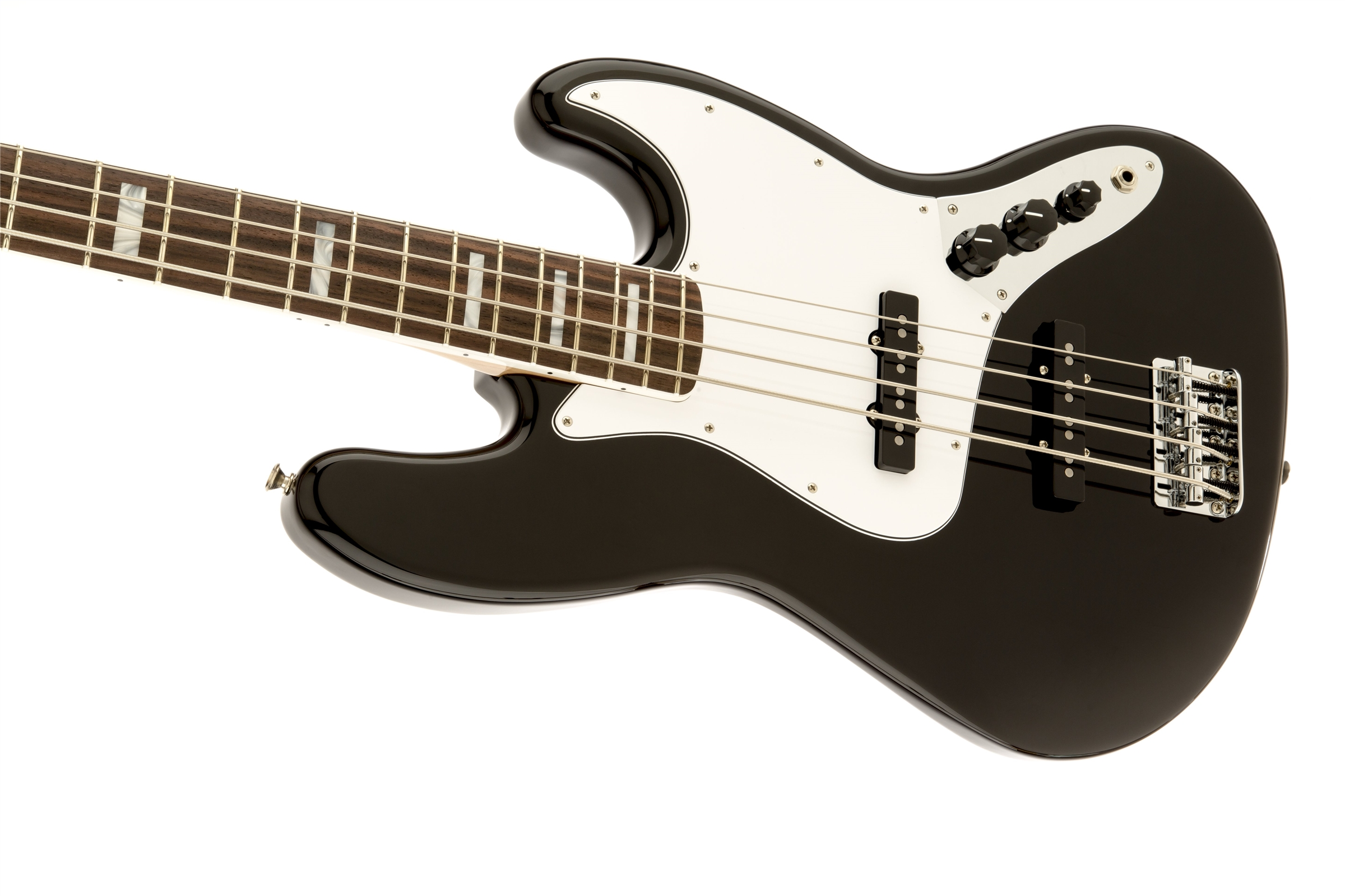 Fender '70s Jazz Bass® Black Rosewood Fingerboard Electric Bass Guitar