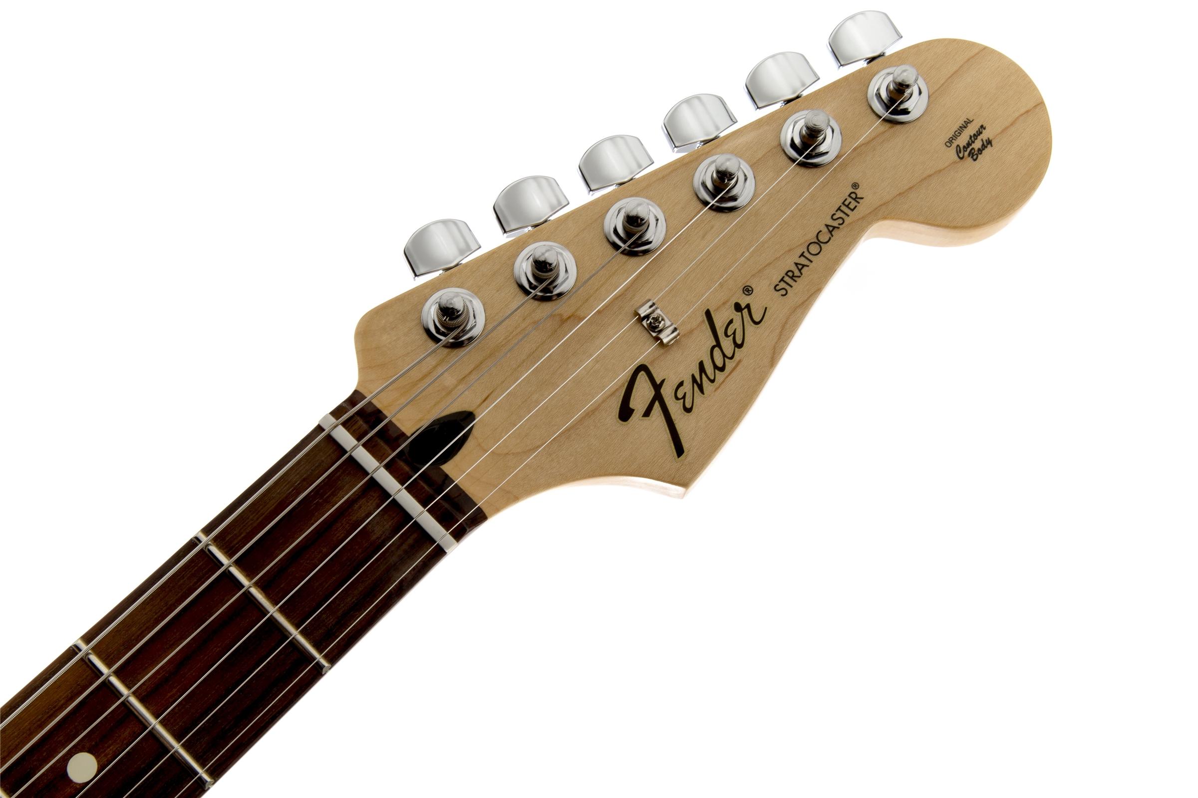 Fender Standard Stratocaster® Brown Sunburst Rosewood Fingerboard Electric Guitar