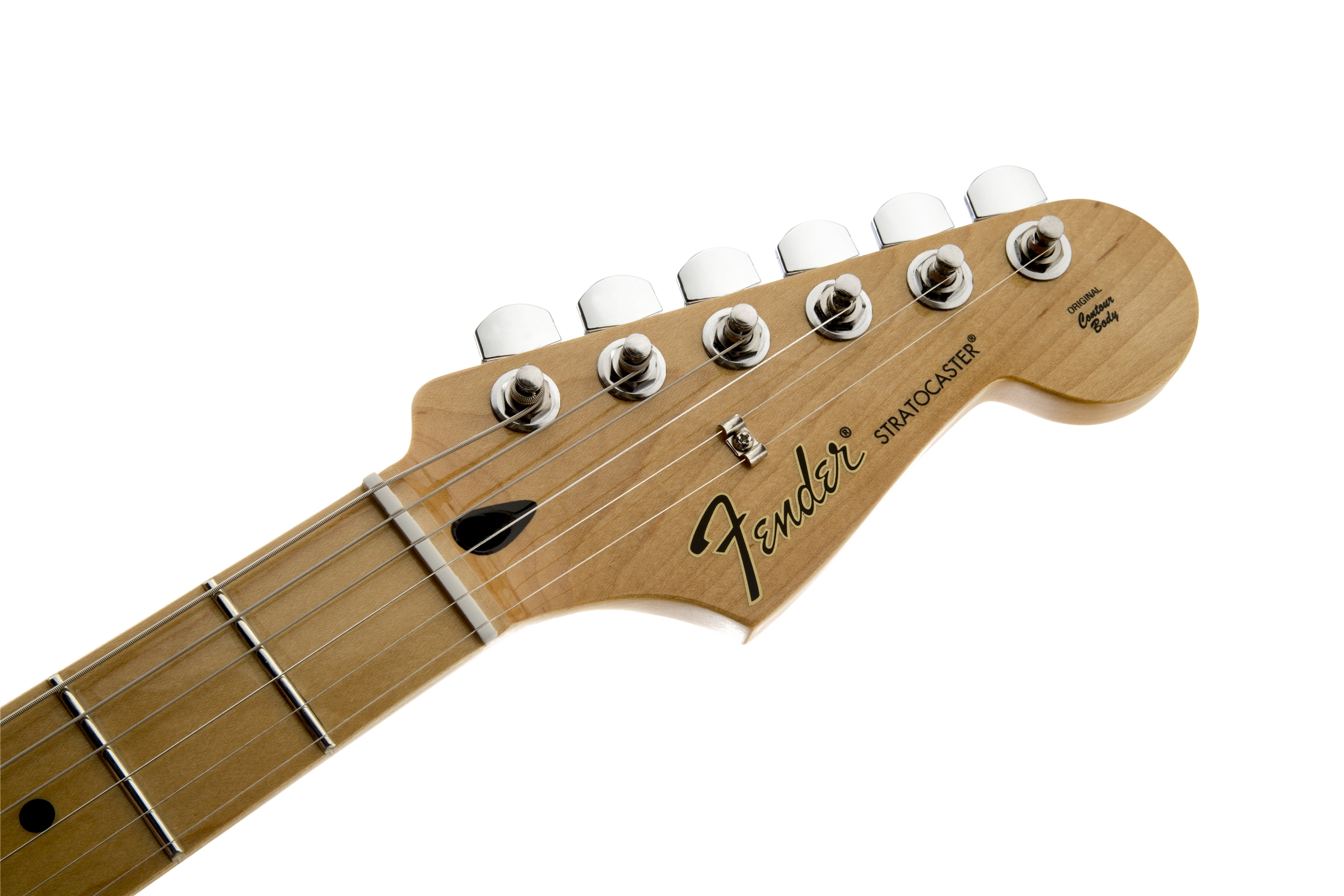 Fender Standard Stratocaster® Arctic White Maple Fingerboard Electric Guitar