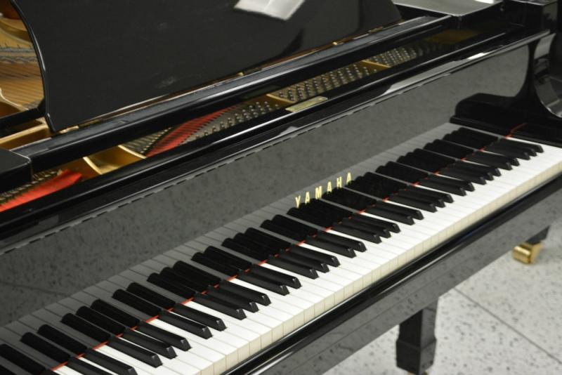 Yamaha C5 Concert Grand Piano - Ebony Polish (used)