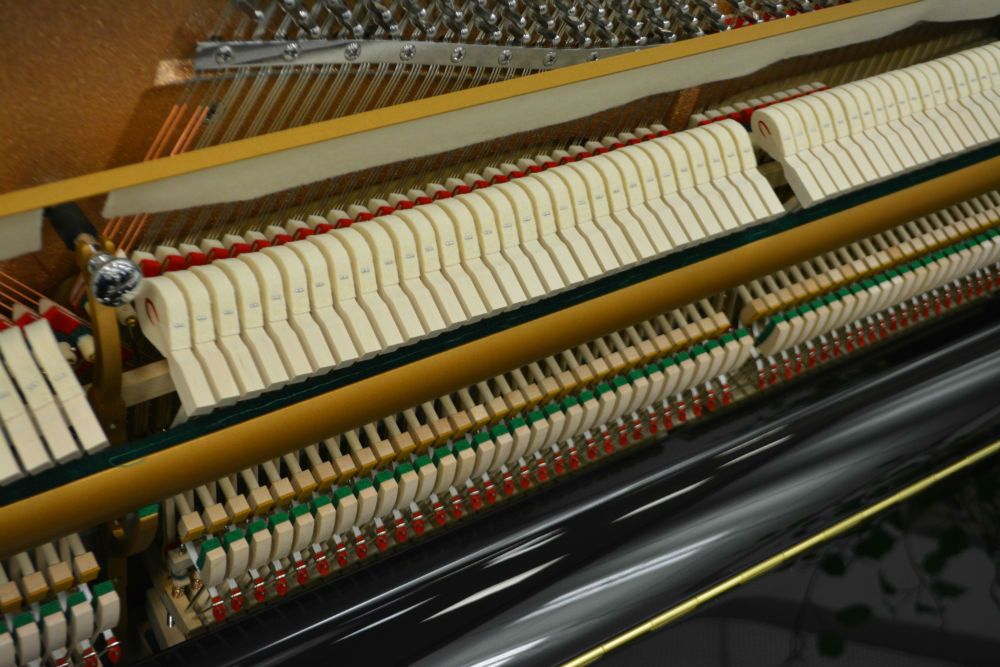 Schiller Performance Frankfurt Upright Piano – Ebony Polish
