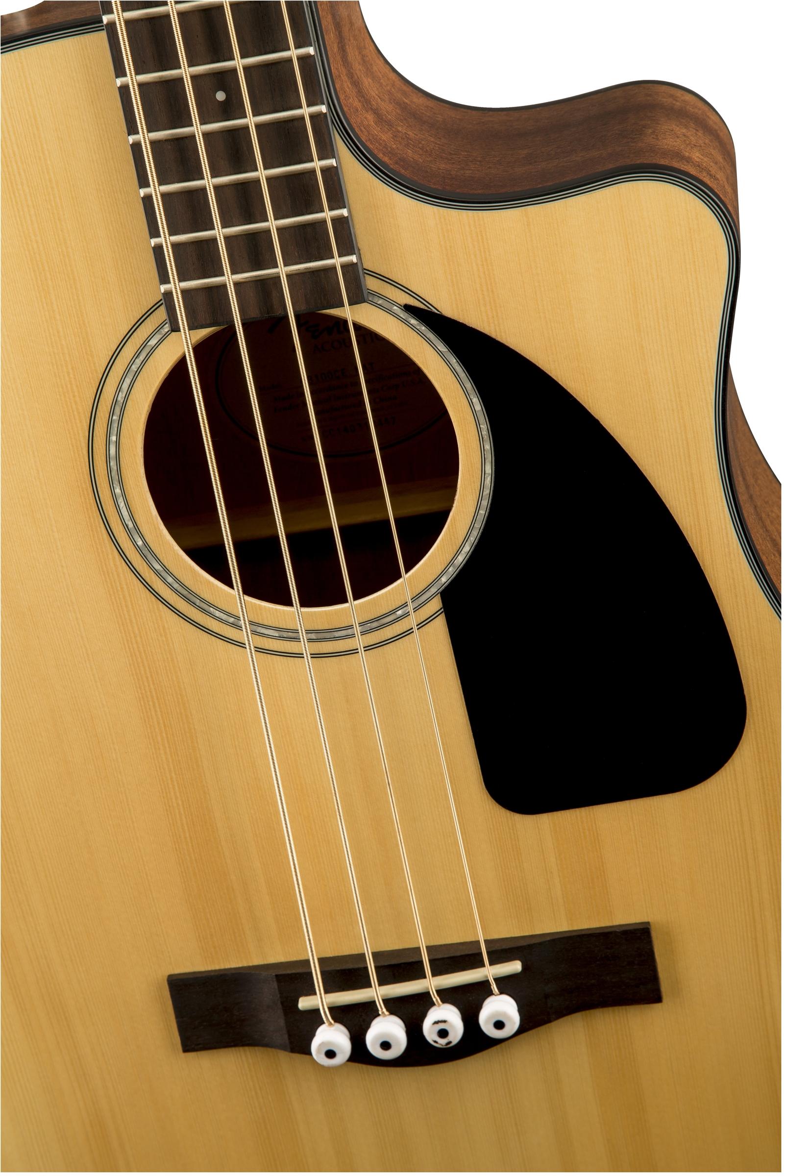 Fender CB-100CE Acoustic Electric Bass Guitar