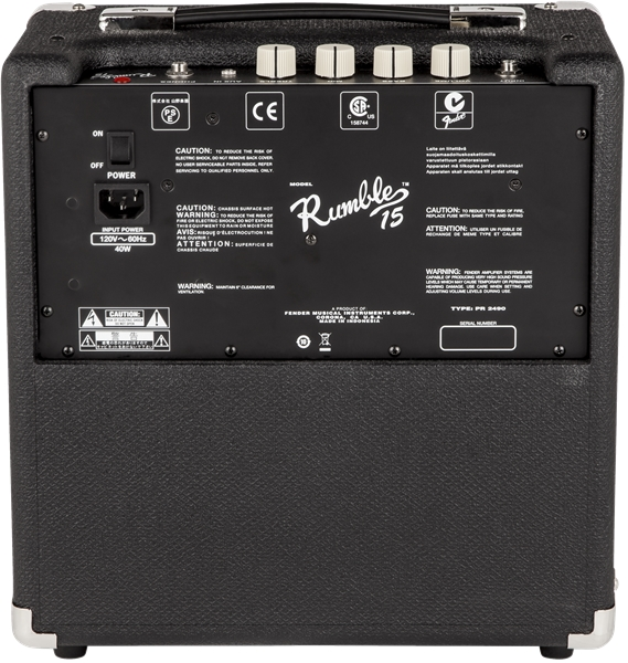 Fender RUMBLE™ 15 Bass Amp