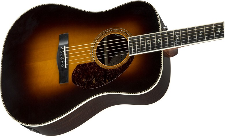 Fender Paramount PM-1 Deluxe Dreadnought Acoustic-Electric Guitar