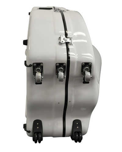 Enthral II Bass Case White Polish