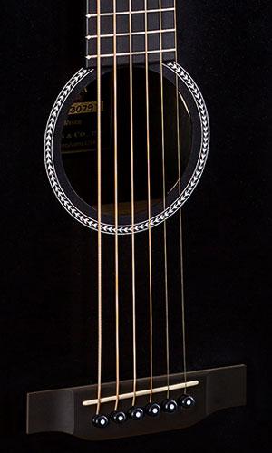 Martin LX Black Little Martin Acoustic Guitar