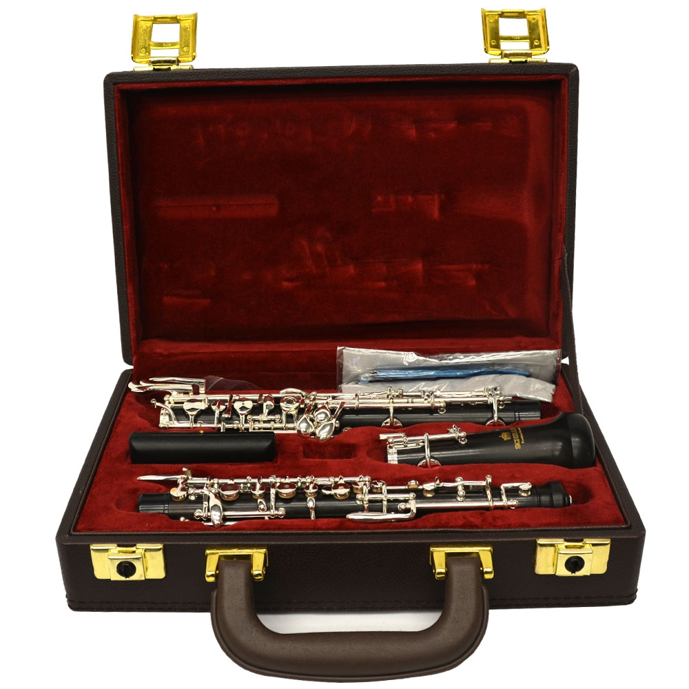 Schiller Elite V Conservatory Oboe with Selected Grenadilla Wood-Open Hole