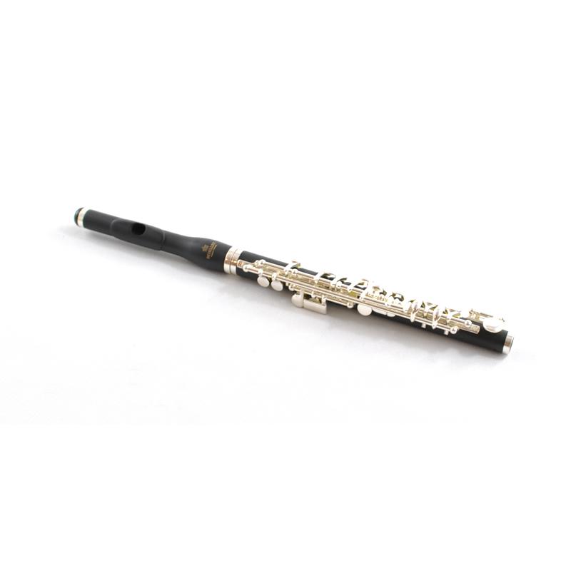 Schiller CenterTone Piccolo Flute – Ebonite with Raised & Cut Lip Plate