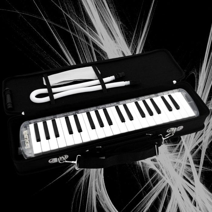 Excalibur 37 Note Melodica Clear Rain Transparent