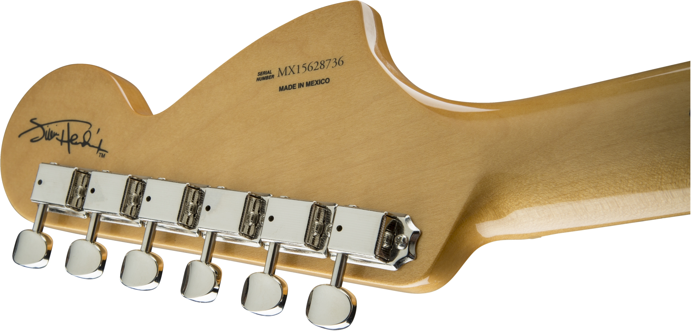 Fender Jimi Hendrix Stratocaster® Artist Series Olympic White Maple Fingerboard Electric Guitar