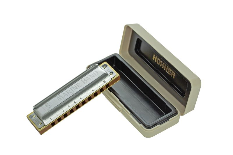 Hohner Diatonic Marine Band 1896 Harmonica -Minor Tuned