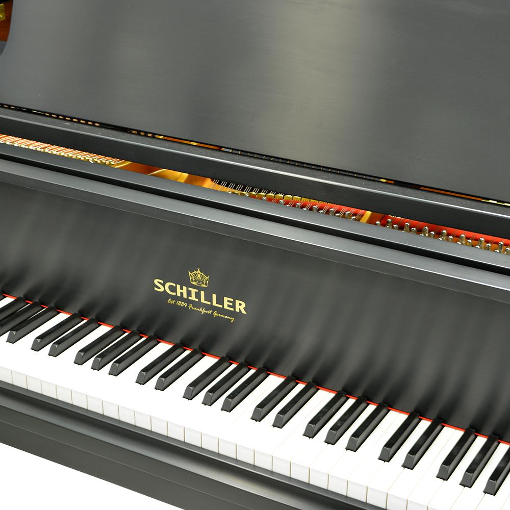 Schiller Leipzig Baby Grand Piano - Ebony Satin