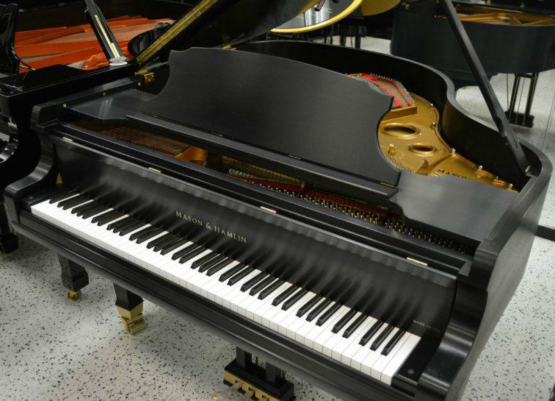 Mason & Hamlin Model B Grand Piano - Ebony Satin