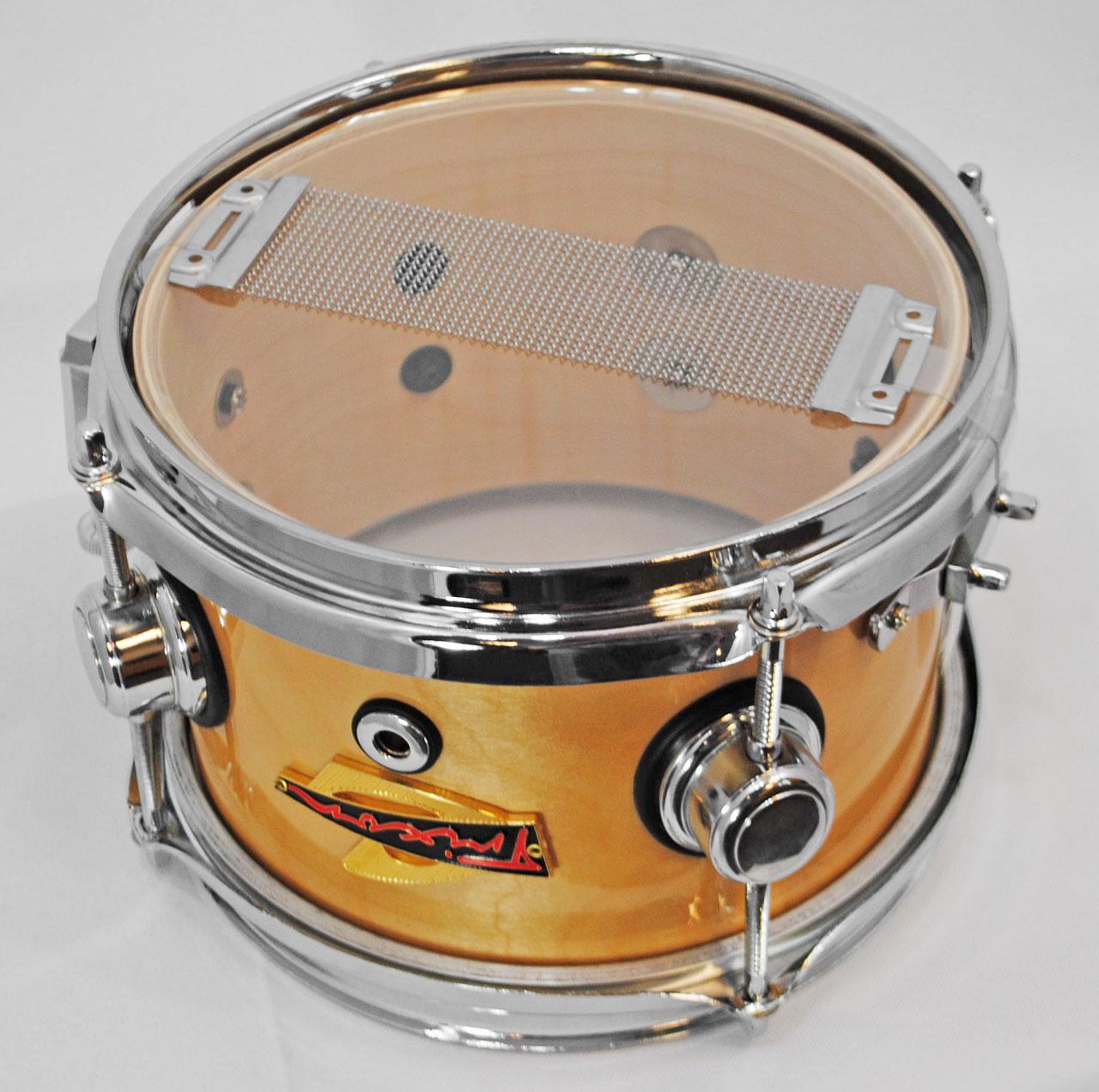 Trixon Elite Popcorn Snare Drum - Natural