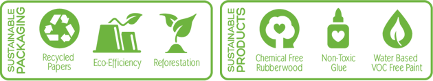 Hohner (green tones) 3788 Endangered Animal Shakers