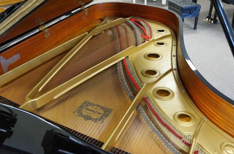 Yamaha C7 Grand Piano - Ebony Polish (used)
