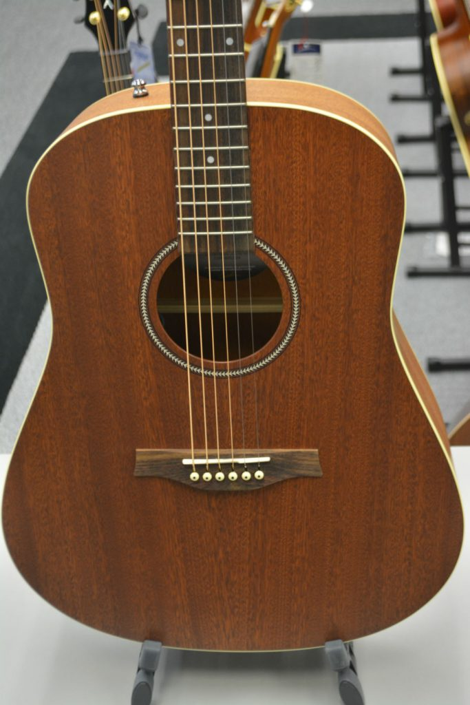 Seagull S6 Mahogany Deluxe Natural Acoustic-Electric Guitar