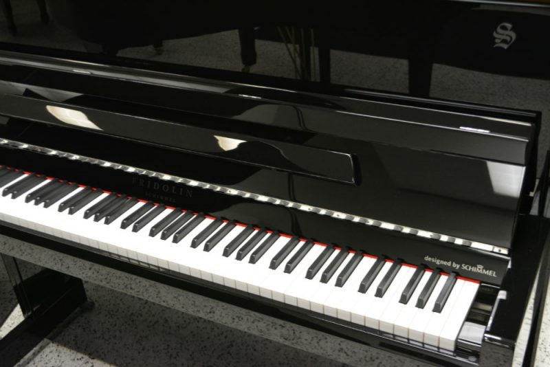 Schimmel Fridolin Upright Piano Black Polish