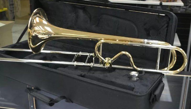 Schiller Studio 547 Pro Trombone Rose Brass