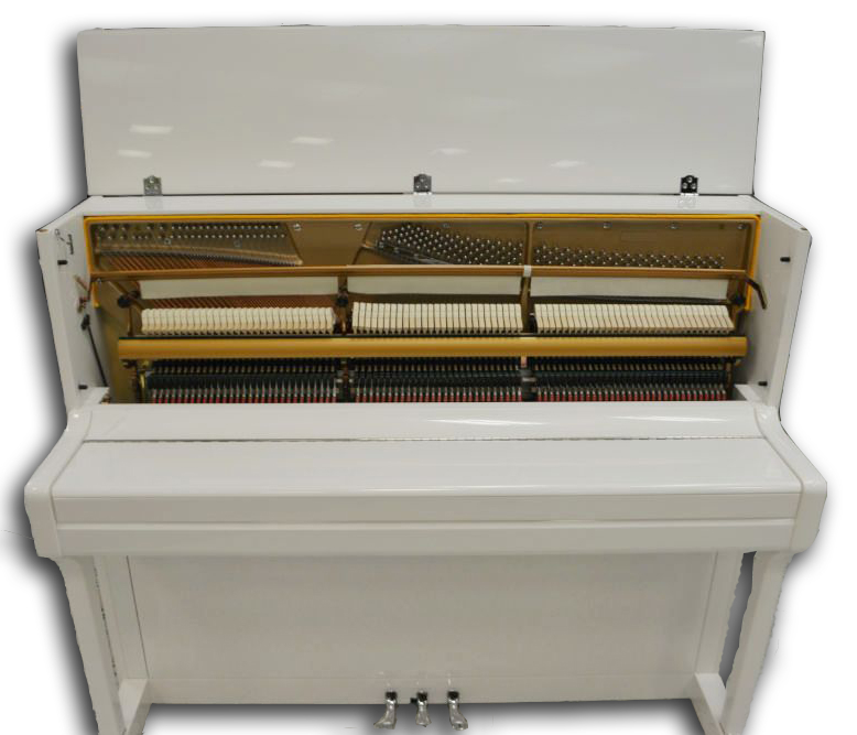 Schiller Concert 48 Upright Piano White