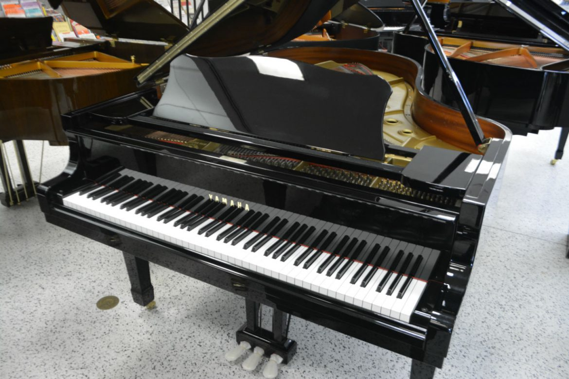 Yamaha C5 Grand Piano Pre-Owned