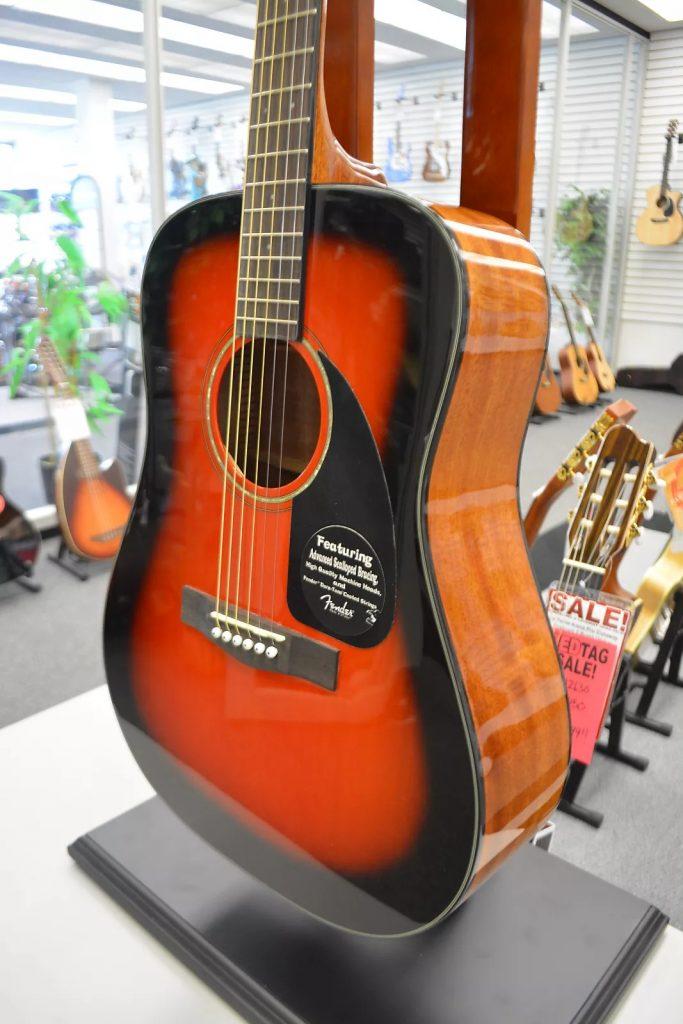 Fender CD-60 Acoustic Guitar w/ Case