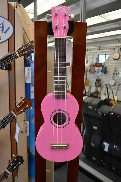 Hilo Soprano Ukulele - Pink