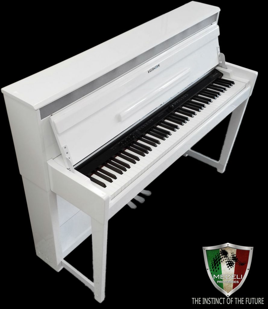 Medeli Digital Piano DP650K White Polish