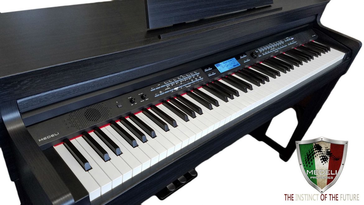 Medeli Digital Piano DP740K Piano Black