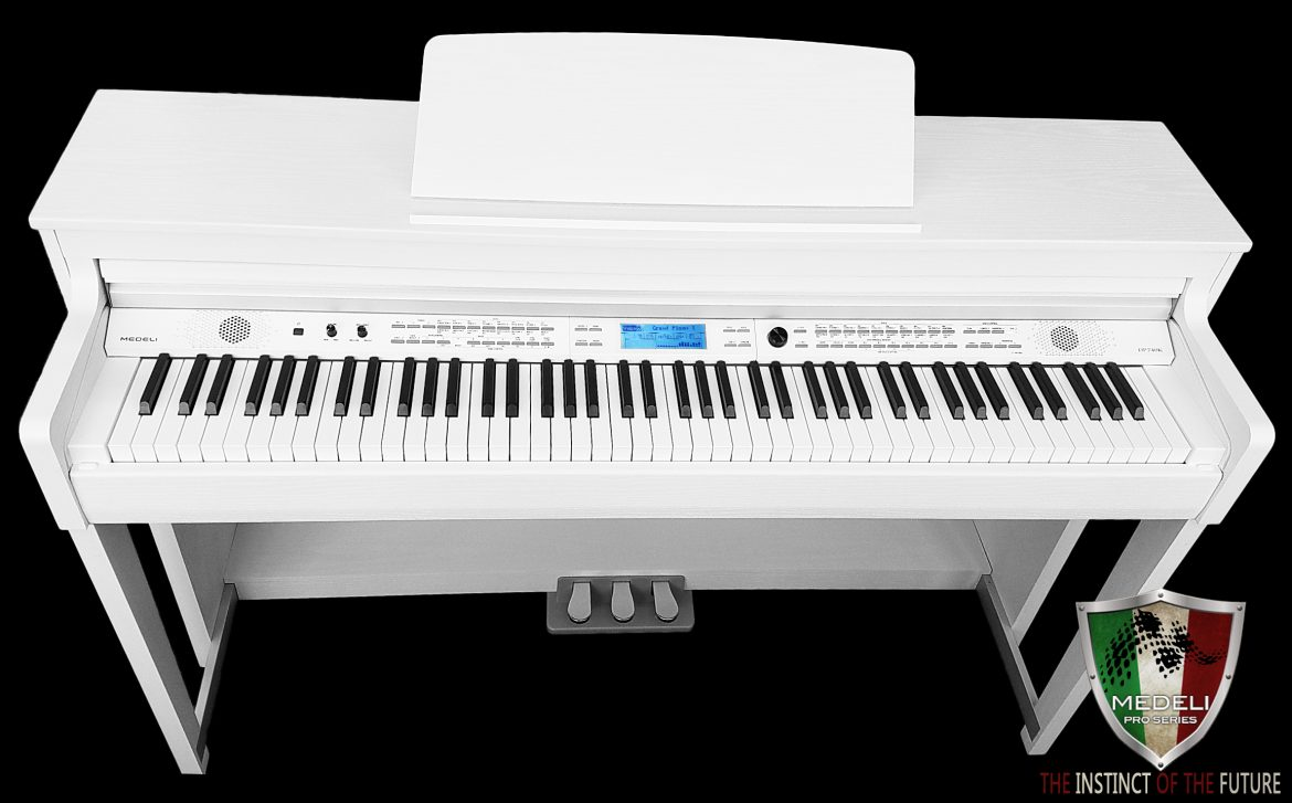 Medeli Digital Piano DP740K Piano White Polish