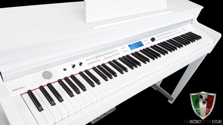 Medeli Digital Piano DP740K Piano White Polish