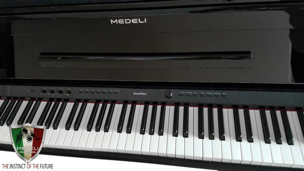 Medeli Digital Piano DP650K Black Polish
