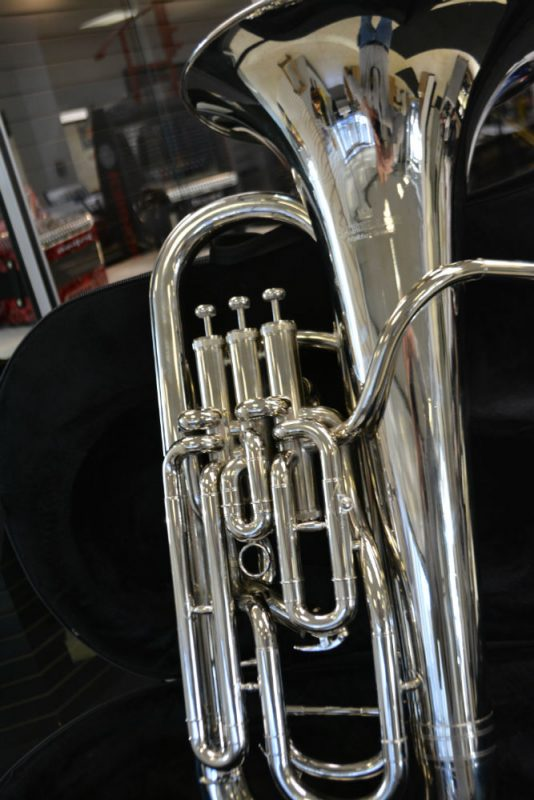 SCHILLER ELITE COMPENSATING EUPHONIUM NICKEL