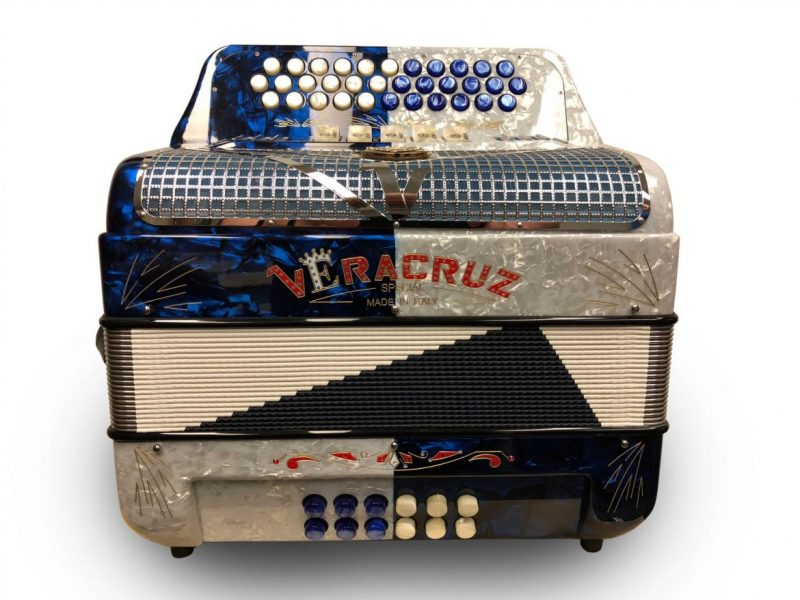 Veracruz 5 Switch Button Accordion
