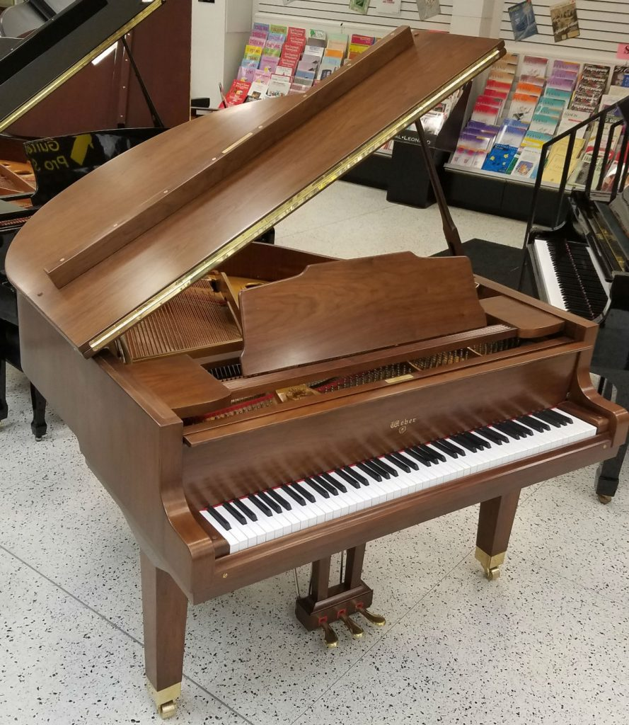 Weber Baby Grand Walnut Satin