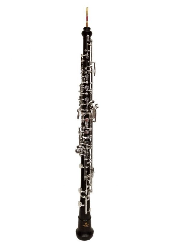 Schiller Elite VI Professional  Oboe with 2 Bells-Silver Plated