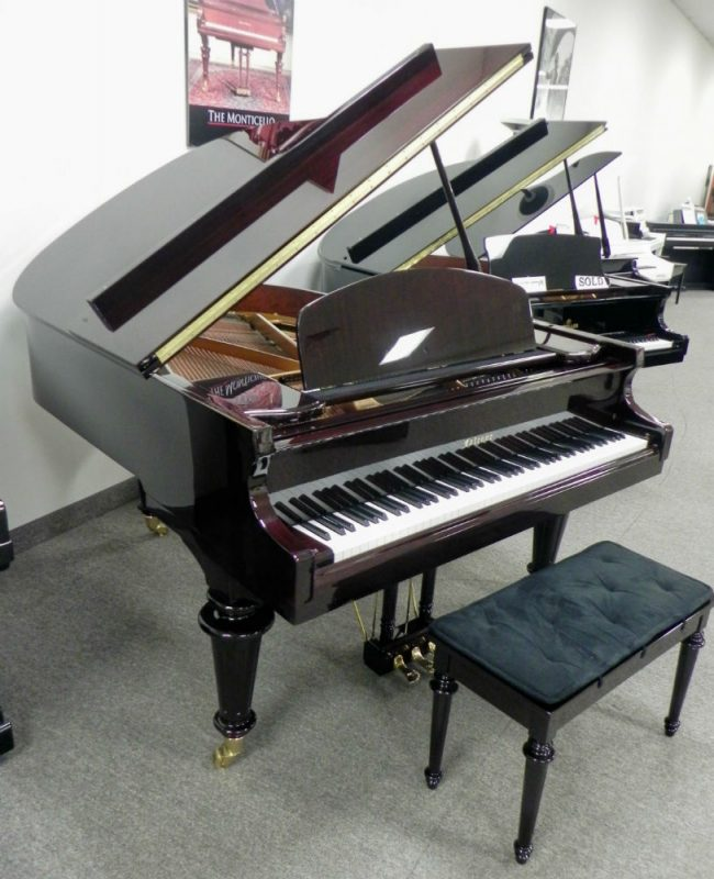 Falcone Grand Piano Mahogany Polish