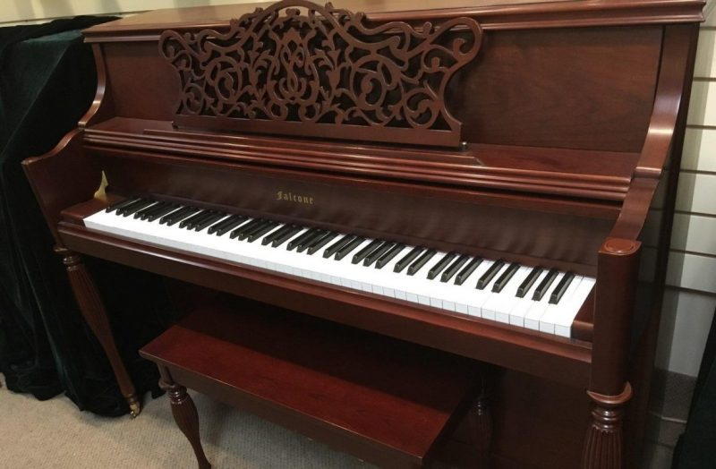 Falcone LTD Decorator Cherry Mahogany Upright