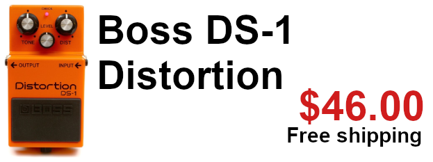 Boss DS-1 distortion on sale