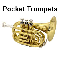 shop pocket trumpets