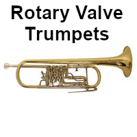 shop rotary valve trumpets