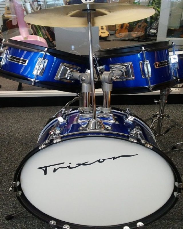 Trixon Mini 4pc Drum Set - Blue