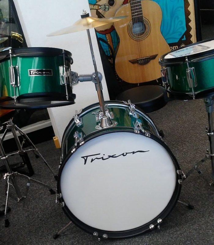 Trixon Junior 3pc Drum Set - Green