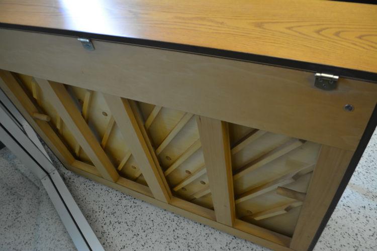 Kimball Console Piano - French Oak