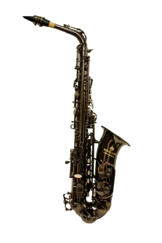 Schiller American Heritage 400 Alto Saxophone Black Nickel