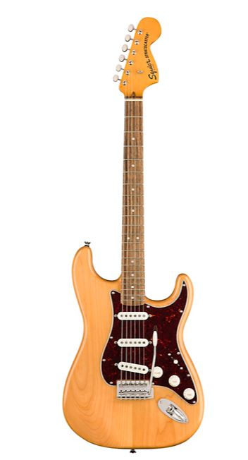 Squier Classic Vibe '70s Stratocaster Electric Guitar Natural