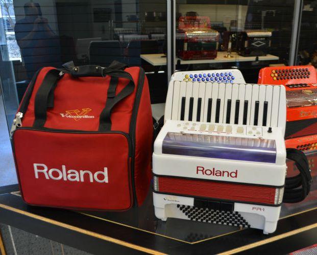 Used Roland FR1 Accordion